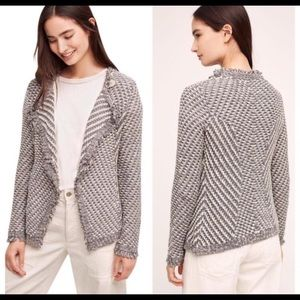 Angel Of The North Antro Boucle Open Cardigan S